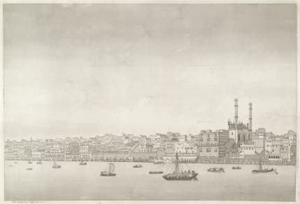 James Moffat 1st View of the city of Benaras