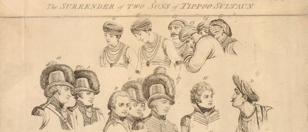 Individuals from Henry Singleton's The Surrender of Two Sons of Tippoo Sultaun