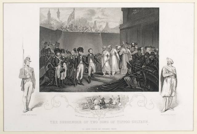 The Surrender of Two Sons of Tippoo Sultaun