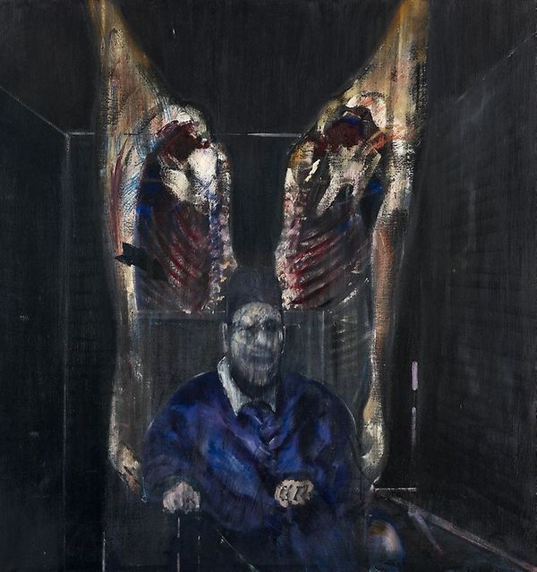 Francis Bacon Painting With Meat