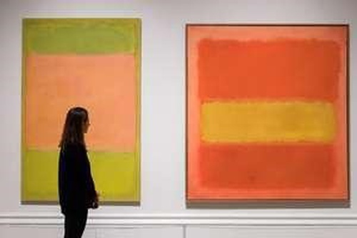 Mark Rothko's artworks
