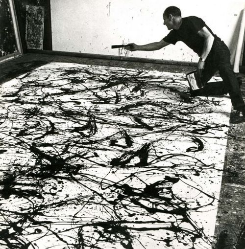 Jackson Pollock - Action Painter